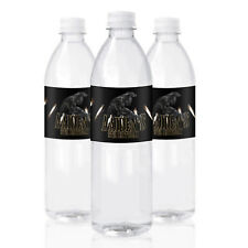 10 Black Panther Birthday Party Favors Personalized Water Bottle Labels