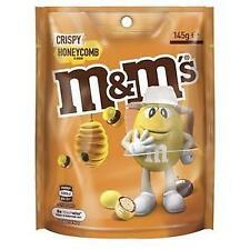 M&M's Crispy Honeycomb Flavour Chocolate Pouch (145g) Australia Import