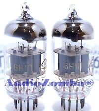 MATCHED PAIR FATMAN AMPLIFIER 6N1 REPLACEMENT TUBES VALVES iDOCK & RINGS UK