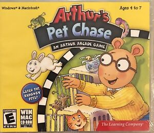 Arthurs Pet Chase Pc Brand New XP