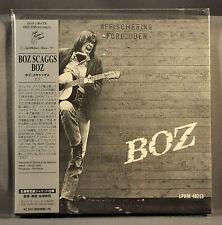 """Boz SCAGGS """"BOZ"""" Original 2014 JAPAN Mini LP CD OBI VSCD-5185 Sealed NEW"""