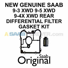 NEW GENUINE SAAB XWD REAR DIFFERENTIAL FILTER GASKET KIT 9-3 9-5 9-4x 20986573