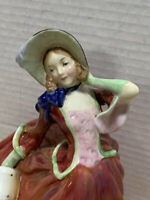 "Vintage Royal Doulton ""Autumn Breeze"" Figurine HN 1934 - 1939 Early Edition"