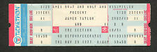 Original 1977 James Taylor unused full concert ticket Los Angeles Jt Handy Man