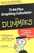 TI-84 Plus Graphing Calculator for Dummies Book New Unused High School College