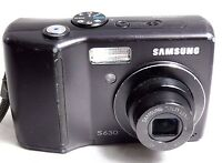 Samsung S630 6MP Digital point & shoot Camera  with 3X zoom lens (with issues)