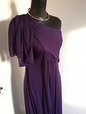 Adrianna Papell Stunning Long Ballgown/Dress  Purple Size 8 Prom/Cruise/Occasion