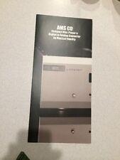 Musical Fidelity AMS CD 6 Brochure Rare !! Ships Free!!