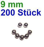 200 x 9mm Stahlkugeln Steinschleuder Zwille Slingshot pocketshot Munition