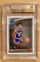 2018-19 Donruss #168 Marvin Bagley III Kings RC Rookie BGS 10 PRISTINE