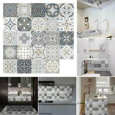 Geometry Mosaic Decal Self-adhesive Vinyl Removable Wall Tile Sticker Home Decor