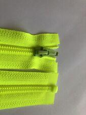 BIANCO 14 pollici denti in plastica pesante APERTO ZIP 36 cm