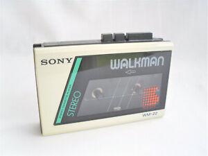 Sony Walkman WM-22 Vintage Cassette Player
