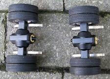 Wedico eje trasero gemelo neumáticos alu-llantas (camiones, Truck, RC, modelismo) Top