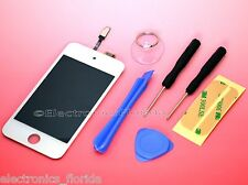 iPod Touch 4th Gen LCD Screen Replacement Digitizer Glass Assembly white tools