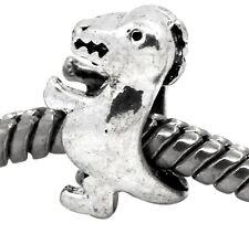 Dinosaur T-Rex Tyrannosaurus Toy Bead for Silver European Style Charm Bracelets