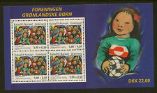 GREENLAND :2004 Greenlandic Children Miniature Sheet SG MS450 unm mint