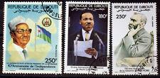 REPUBLIQUE DE DJIBOUTI  LUTHER KING     SANS CHARNIERES     BD93