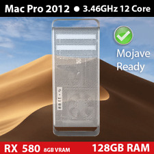 Mid 2012 Mac Pro  | 3.46GHz 12-core | 128GB | 2TB | RADEON 580 RX 8GB