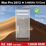 Mid 2012 Mac Pro  | 3.46GHz 12-core | 128GB | 2TB | RADEON 580 RX 8GB