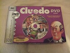 Cluedo DVD Game Parker Hasbro 2005 With 10 suspect Figures