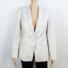 Hip Length Linen Patternless NEXT Coats & Jackets for Women