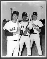 1970 Carl Yastrzemski Tony Conigliaro Smith Red Sox Press Photo Sporting News