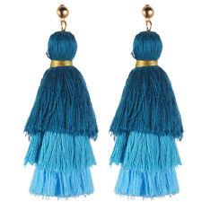Fringe Dangle Earrings Boho Jewelry Vintage Bohemian Earrings Women Long Tassel