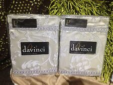 Bordeaux Champagne Davinci Standard Pillow Case 2 Pk Special Offer Below RRP$120
