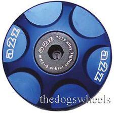 A2Z Anodised Alloy Headset Compressor Topcap Top Cap Bolt Blue MTB Bicycle Bike