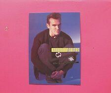 MORRISSEY OFFICIAL VINTAGE POSTCARD NOT POSTER SHIRT LP CD UK IMPORT THE SMITHS