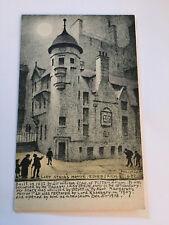 R.P. Phillimore Edinburgh Lady Stair's House no 482 artist signed postcard