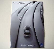 Peugeot . 407 SW . The Peugeot 407SW . June 2005 Sales Brochure