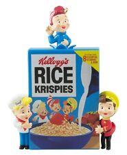 Snap, Crackle, Pop! 2016 Hallmark Ornament  Vintage Kelloggs Rice Krispies Elves