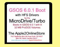 ✅ MicroDriv3e/Turbo CompactFlash CF Card w ProDOS 6.0.1 HFS Boot for Apple IIGS