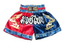 Blue red two-tone color with Mauy Thai logo