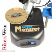 OXFORD Monster Padlock Only Ultra Strong Motorcycle Security Disc Lock OF31