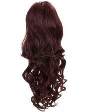 Extensions de cheveux queues de cheval noir longues pour femme