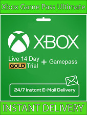 Xbox Live Gold Xbox Game PASS Ultimate 14 Day 2 Weeks - Instant Delivery 24/7