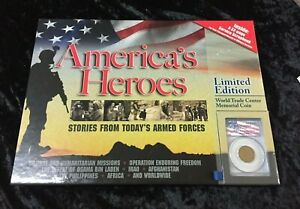 America's Heroes Limited Edition World Trade Center Memorial Coin and Book