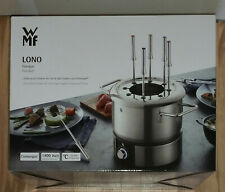 WMF LONO Fondue Set  0415130011 - 1400 Watt  - aus Edelstahl