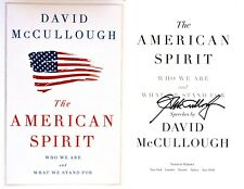 David McCullough~SIGNED IN PERSON~The American Spirit~1st/1st + Photos!!