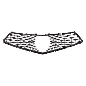 AC1201100C New Replacement Front Upper Grille Insert Fits 2018-2020 Acura TLX