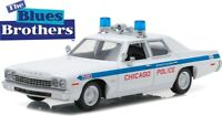 GREENLIGHT 84012 DODGE MONACO CHICAGO POLICE model from 1980 BLUES BROTHERS 1:24