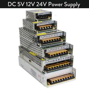 Switch Power Supply 110V-220V TO DC 5V 12V 24V Driver Adapter LED Strip Light GL