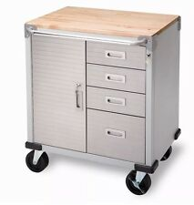 Seville 4-Drawer Rolling Garage Steel Metal Storage Cabinet |NO SALES TAX|