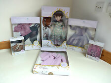 A Girl For All Time 1940's Blitz Clementine Doll & All Clothes collection BNIB