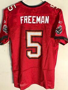 Reebok Women's NFL Jersey Tampa Bay Buccaneers Josh Freeman Red sz 2X