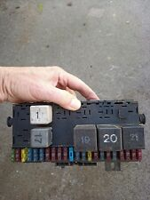 Vw Golf Mk 1 Fuse Box with fuses and some relays 1719418130