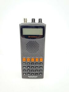 Radio Shack Pro-82 200 Ch Weather Police Fire Air Ham Radio WX Scanner - Tested
